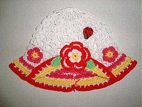 Detské čiapky - Letný klobúk - 1049881