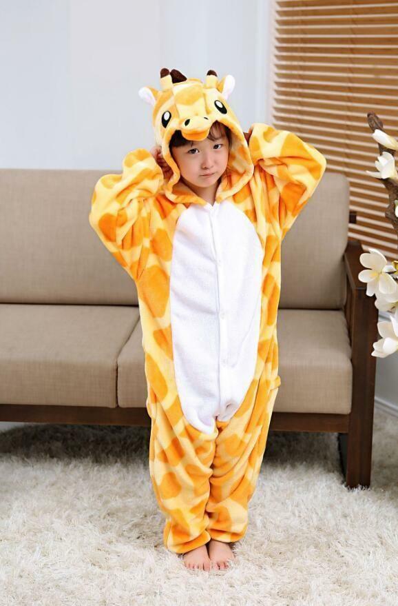 68201838d1 Kids rainbow Unicorn Kigurumi Animal Cosplay Costume Onesie16 Pajamas  Sleepwear. Kigurumi Animal Unicorn