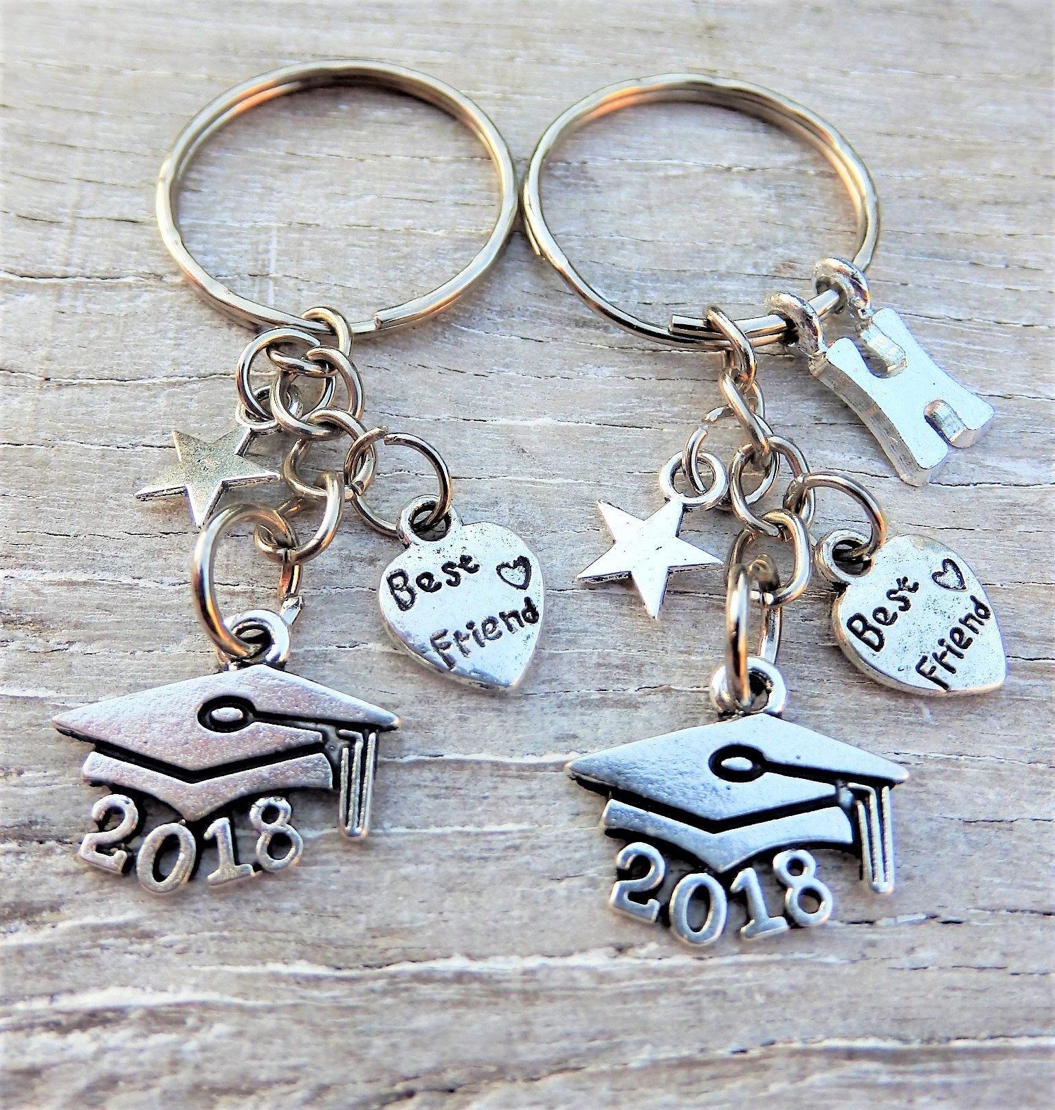 Class of 2018 best friend graduation gift personalised