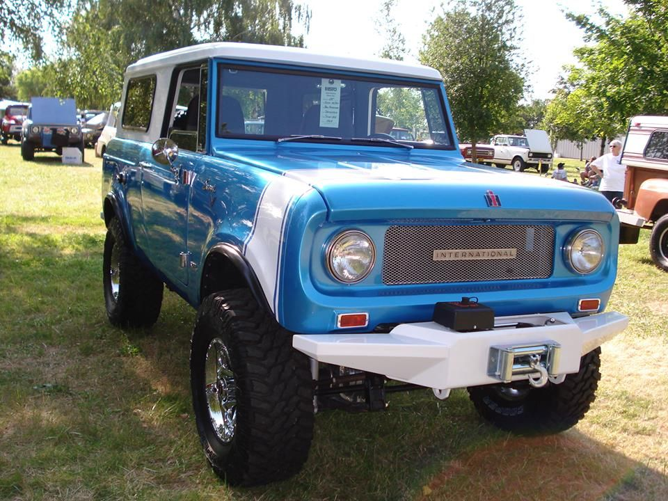Nicely Upgraded: V8 Powered 1967 International Harvester Scout 800 ...