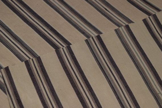 Vintage 1910 S French Mattress Ticking Upholstery Fabric