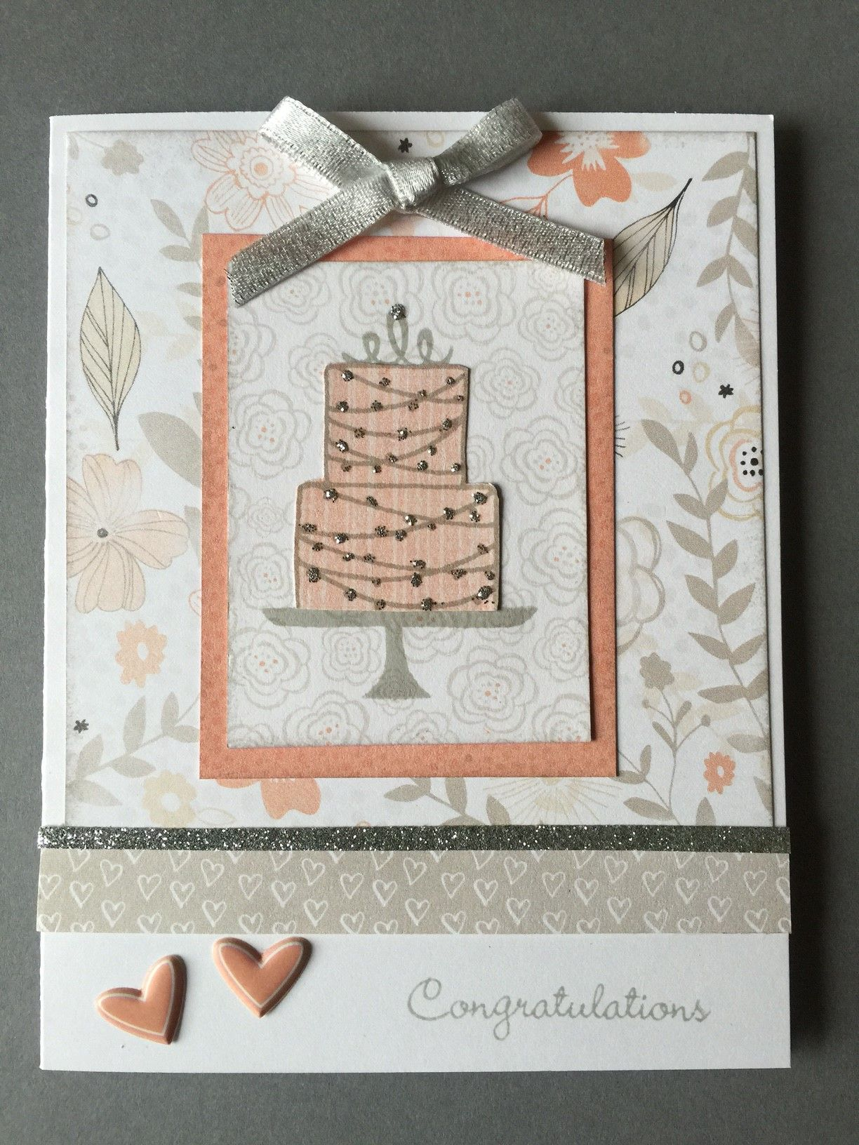 Close To My Heart Card Making Ideas Part - 42: And Yet Another Card Using Close To My Heartu0027s Charlotte Paper. I Just  Couldnu0027t Stop Working With This Wonderful Paper. Our Friendu0027s Daughter Is  Getting ...