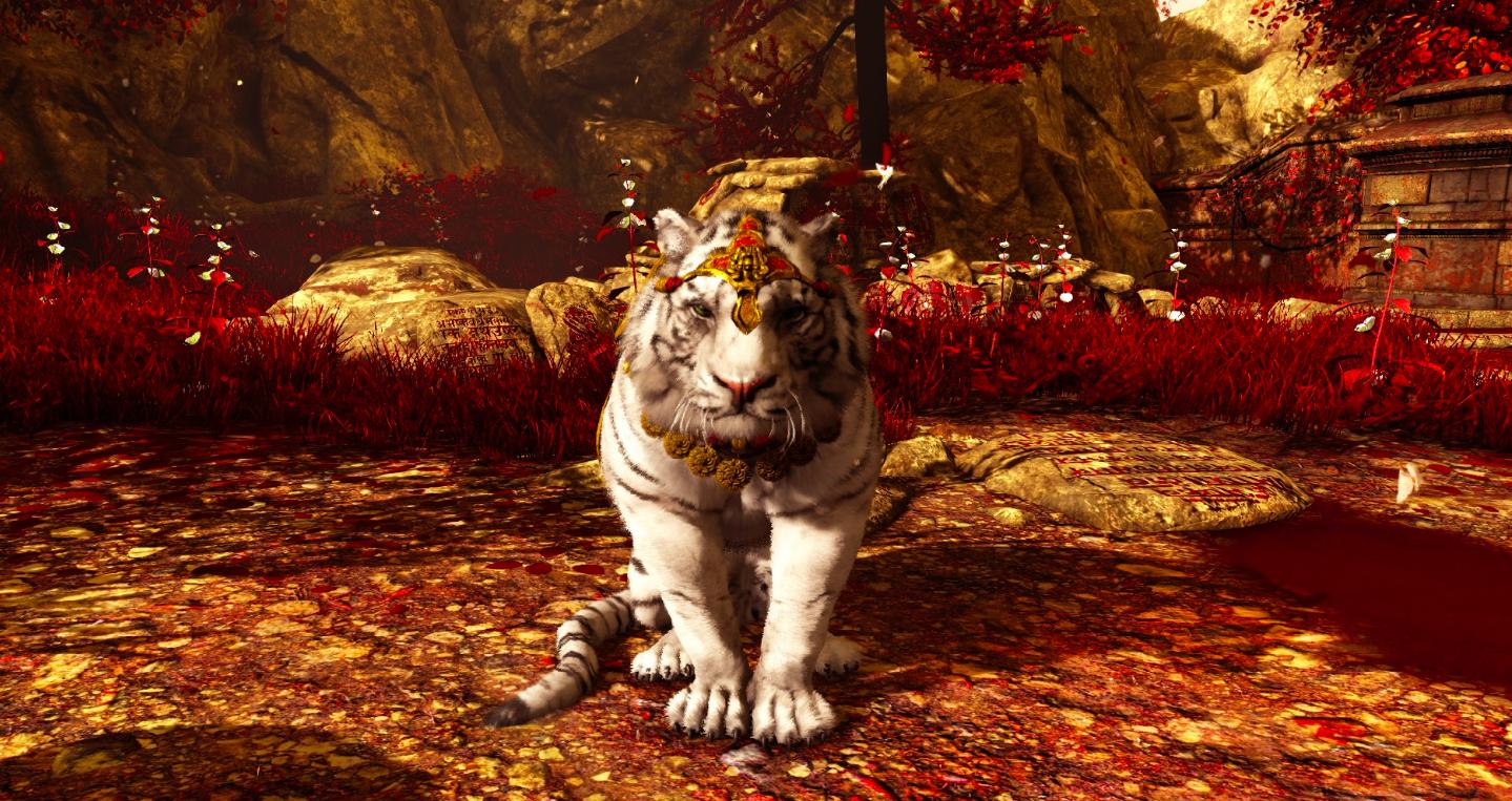 Логово тигров фон