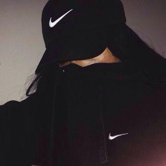 hat jacket black jacket adidas sweater nike sweater nike air black and  white dope hoodie nike black cap nike cap swoosh logo nike logo gangsta  thug life ... f12fa20712b