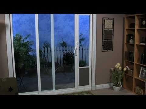Petsafe Deluxe Patio Panel Pet Door