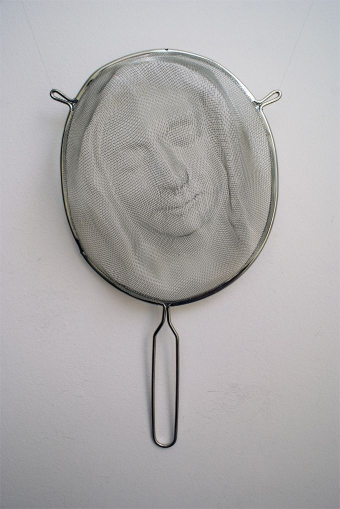 Intricate Shadow Faces Cast Through Strainers Shadow Art Slow