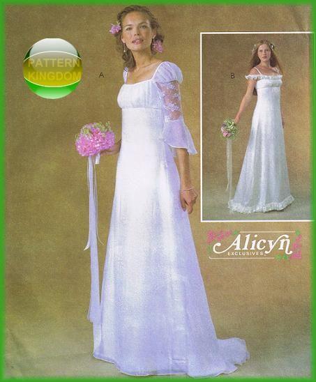McCalls 4380 Ever After Renaissance Wedding Gown Patterns ...