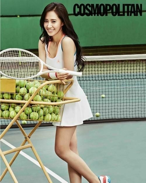 Girls Generation Yuri | Girls' Generation Yuri Transforms into 'Tennis Girl' | Oh! Kpop ...