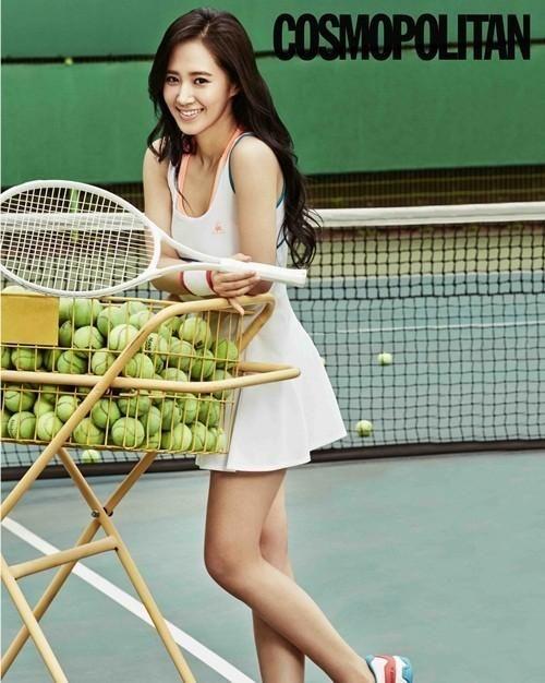 Girls Generation Yuri | Girls' Generation Yuri Transforms into 'Tennis Girl' | Oh! Kpop ...