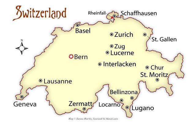 Where to Visit in Switzerland | Switzerland cities ...