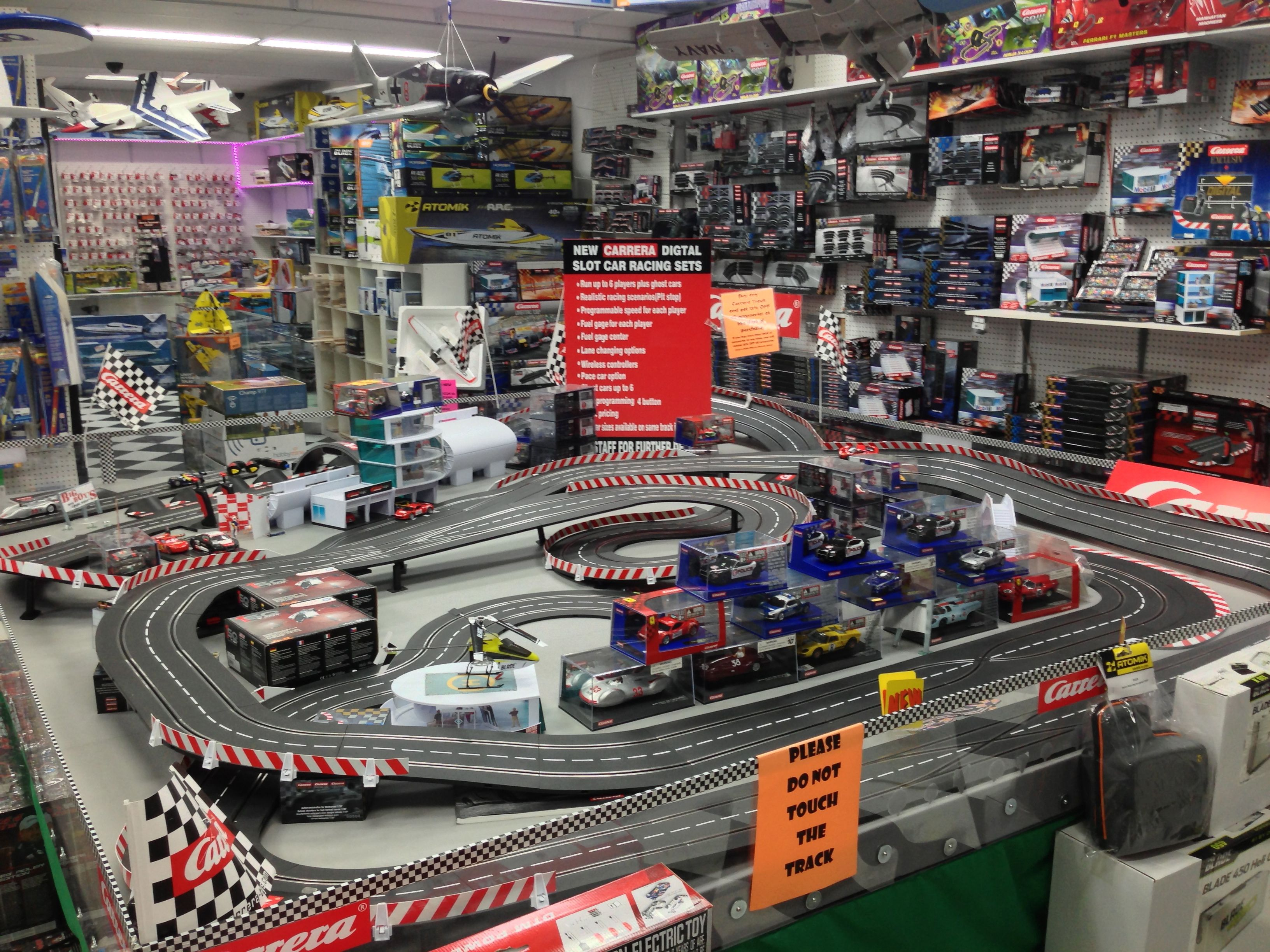 Our Carrera Slot Car Track in the store Slot cars, Slot