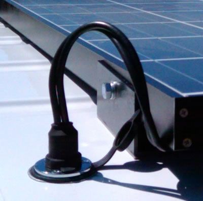 More Solar Mounted With Sticky Stuff Find This Pin And On DIY Camper Van