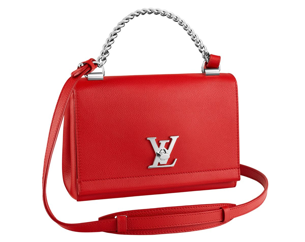 IMAGE: LOUIS VUITTON  While I wouldn't exactly call the design revolutionary, the Lockme II BB is a couple of things. For one, it's quite different from bags Louis Vuitton usually puts out, not exactly runway-ready nor is it something that's covered in monogram. Not that it's a
