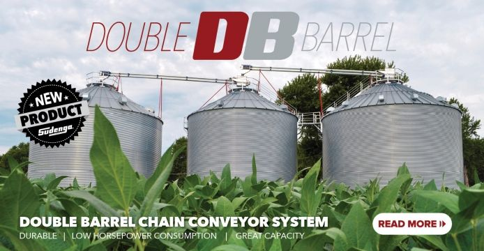 The Double Barrel chain conveyors have the benefits of a