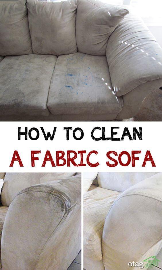 5 مرحله ی کلیدی که باید درباره شستشوی مبل بدانید Clean Sofa