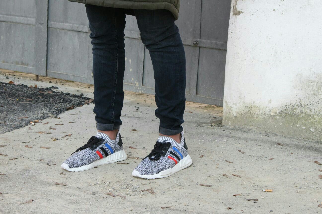 Shot of my Adidas NMD Tricolors  follow @shahzad_220401 on insta for more follow @shahzadmeh on pinterest