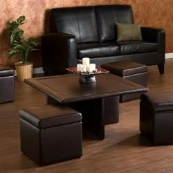 Phenomenal Harper Blvd Crestfield Dark Brown Coffee Table Storage Onthecornerstone Fun Painted Chair Ideas Images Onthecornerstoneorg