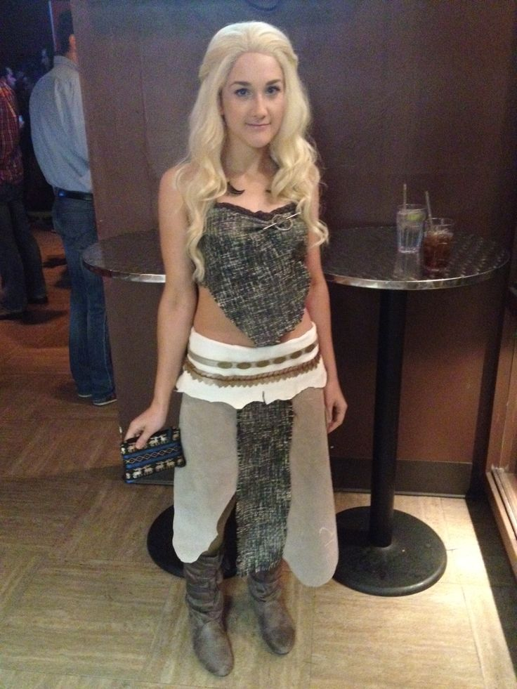 Daenerys targaryen khaleesi from game of thrones costume for Game of thrones daenerys costume diy