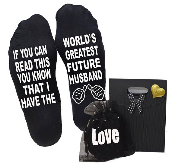 Gift For Future Husband If You Can Read This Socks Ideas