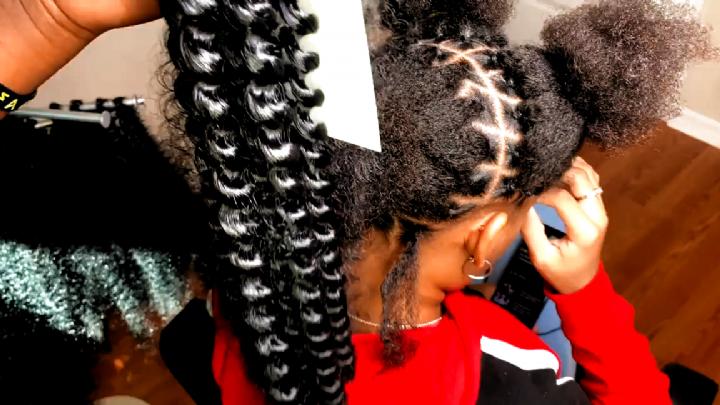My Little Pony Birthday Party Ideas Photo 4 Of 25 Twist Hairstyles Braided Ponytail Hairstyles Braid Inspiration
