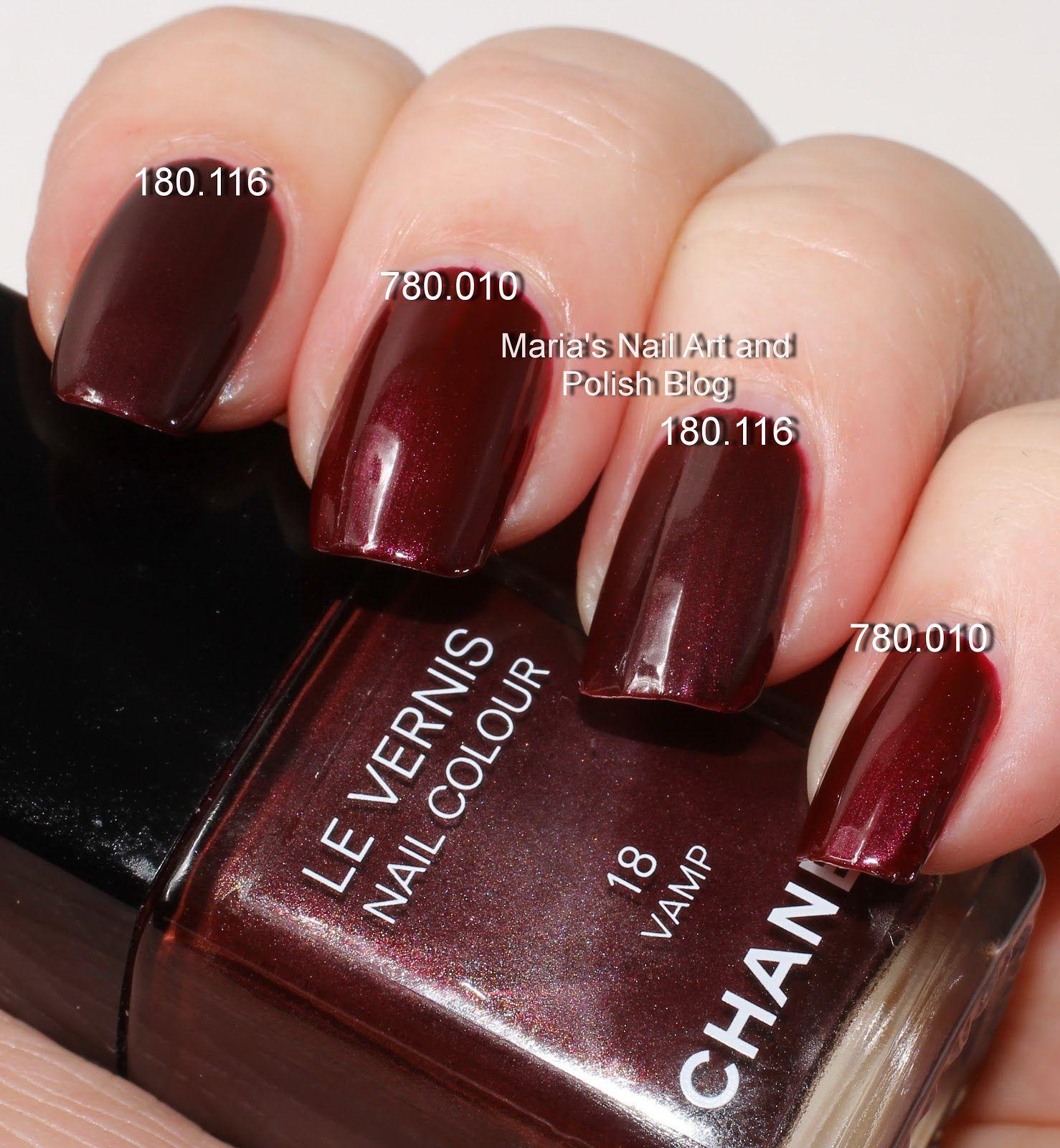 Famoso Chanel Rouge Noir Esmalte De Uñas Vampiro Inspiración - Ideas ...