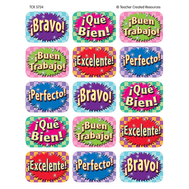 Good Work Spanish 90 Jumbo Stickers