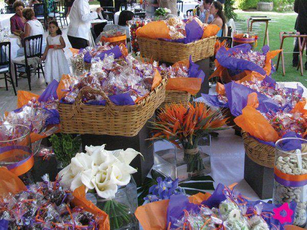 Mesa de dulces para decoraci n de boda mexicana - Mesa de dulces para bodas ...