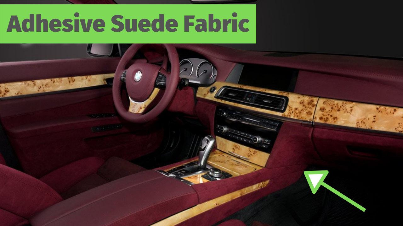 Car Interior Ideas Diy Self Adhesive Suede Custom Car Interior