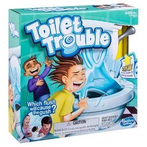 Toilet Trouble Game : Target