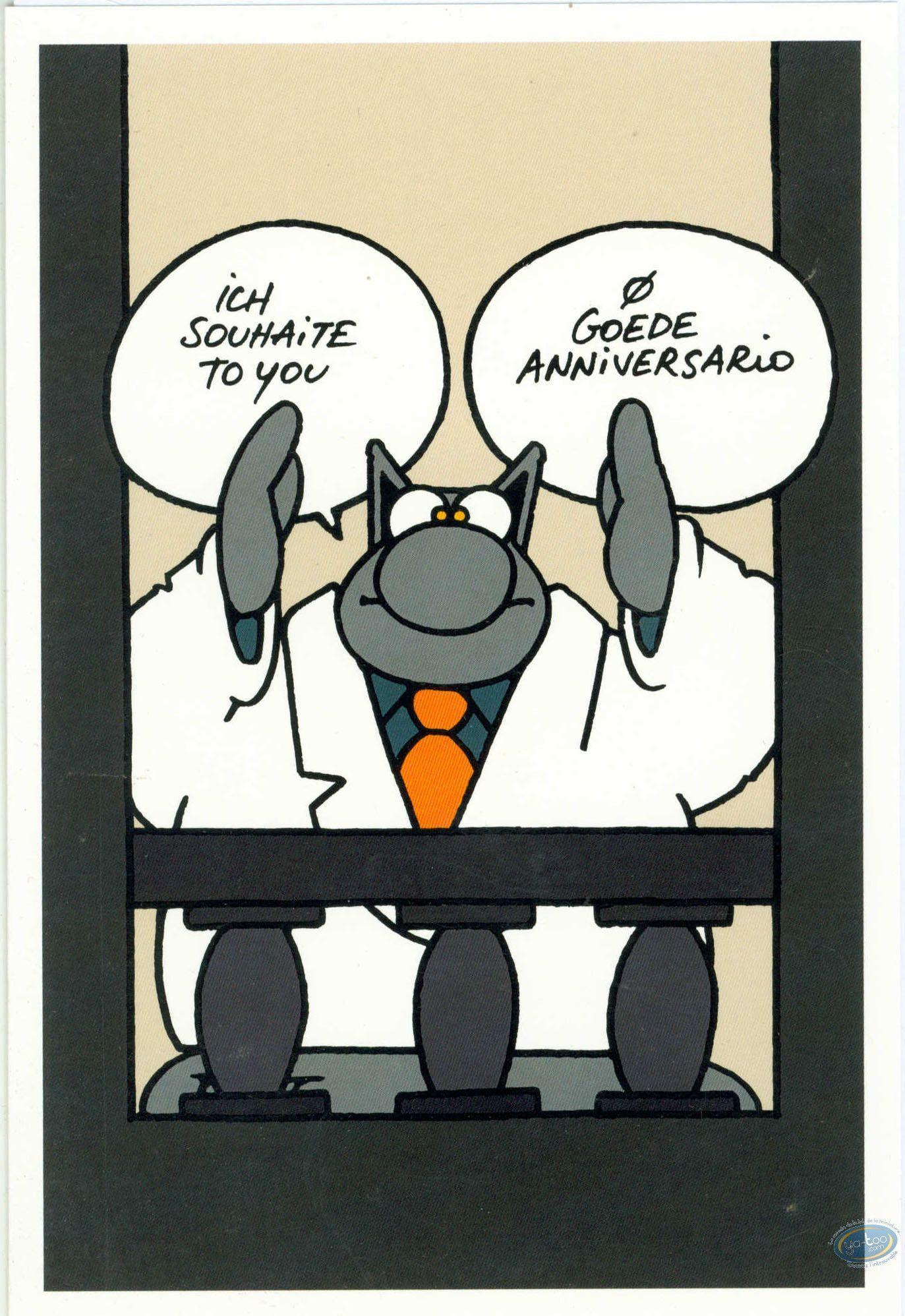 Anniversaire Humour Le Chat