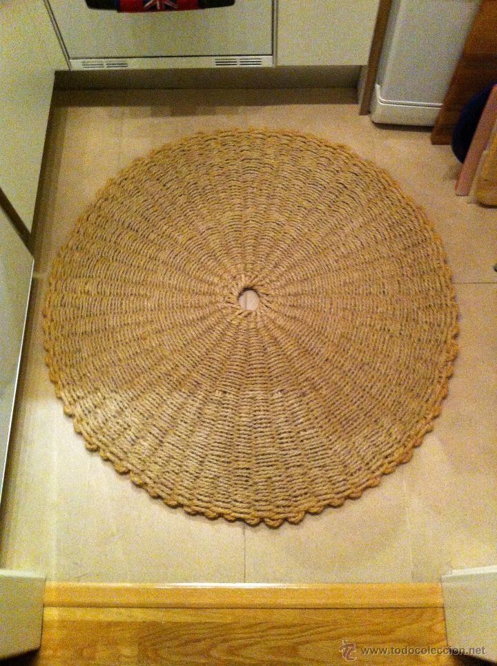 Alfombra de yute hecha a mano nuevas 2 modelos a elegir for Modelos de alfombras