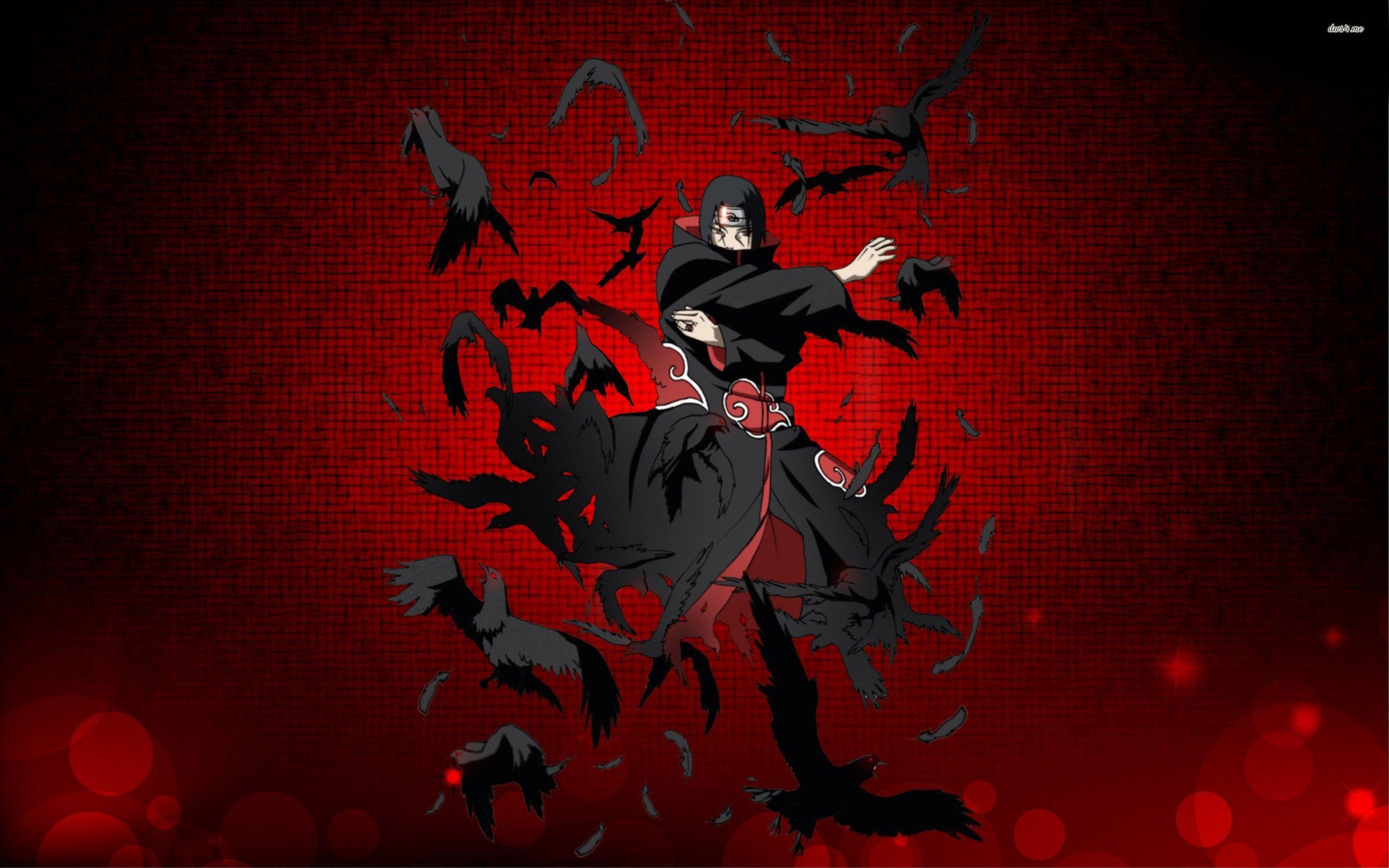 Res 2560x1600 Anime Naruto Itachi Uchiha Wallpaper Naruto Gambar Seni Gelap