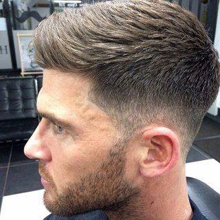 Стрижка мужская на короткие волосы фото