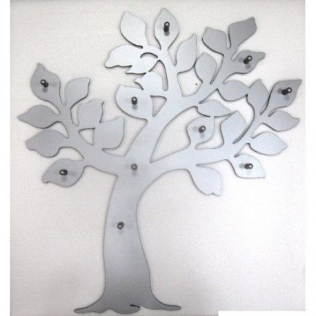 Appendiabiti a forma di albero - design moderno e facile da installare