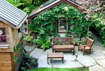 Westcoast Rustic Garden Rustic Patio Vancouver Aloe