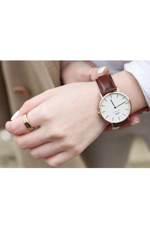 ad252561618b DW Classic St Mawes Rose Gold 36mm - Christina Marie s Boutique ...