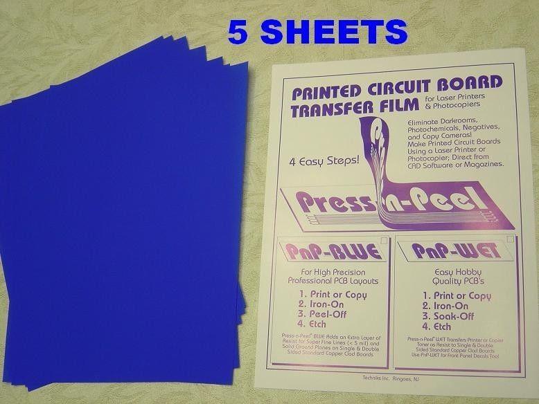 5 sheets PRESS-N-PEEL