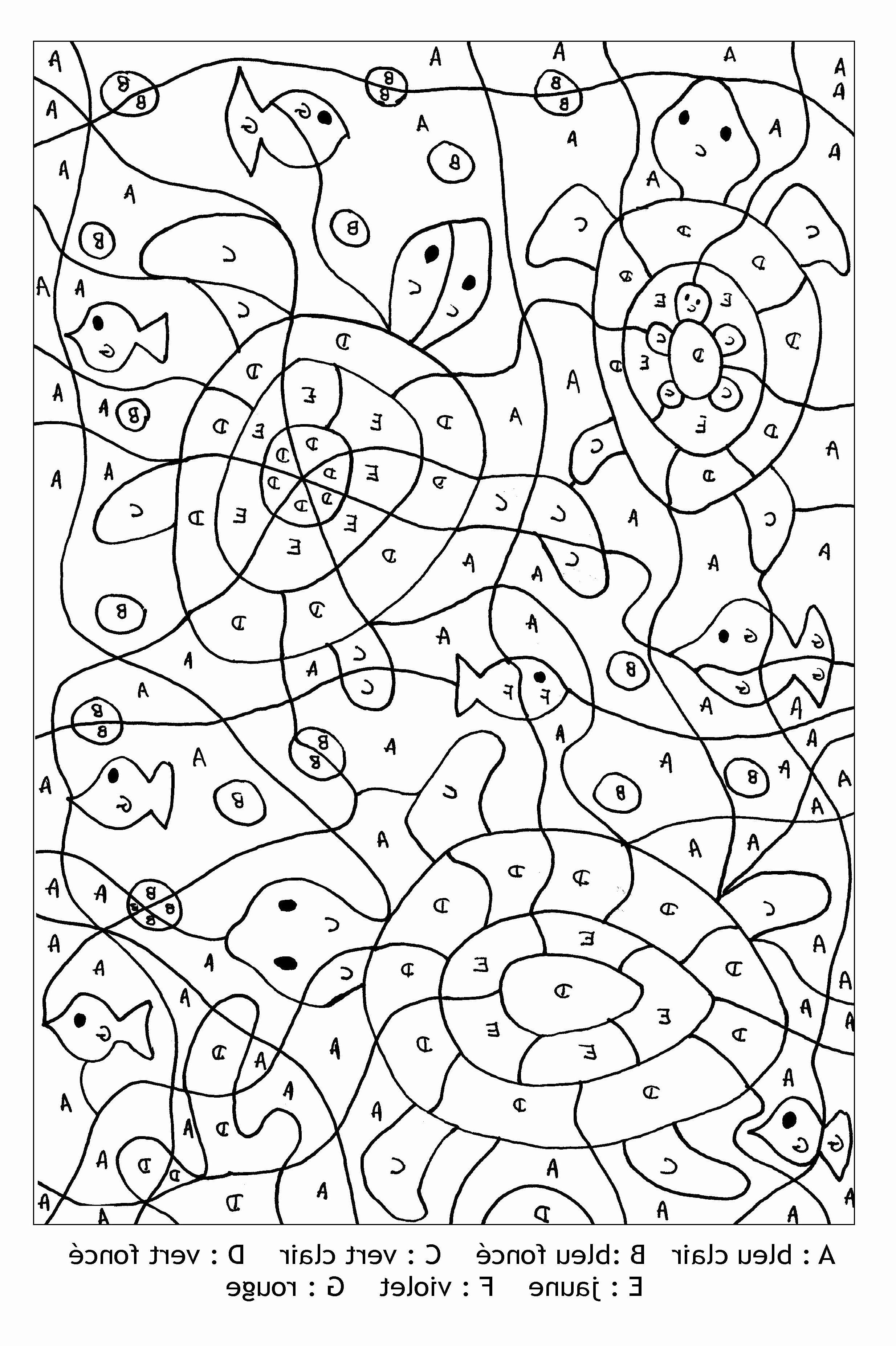 Coloriage Magique Lettres