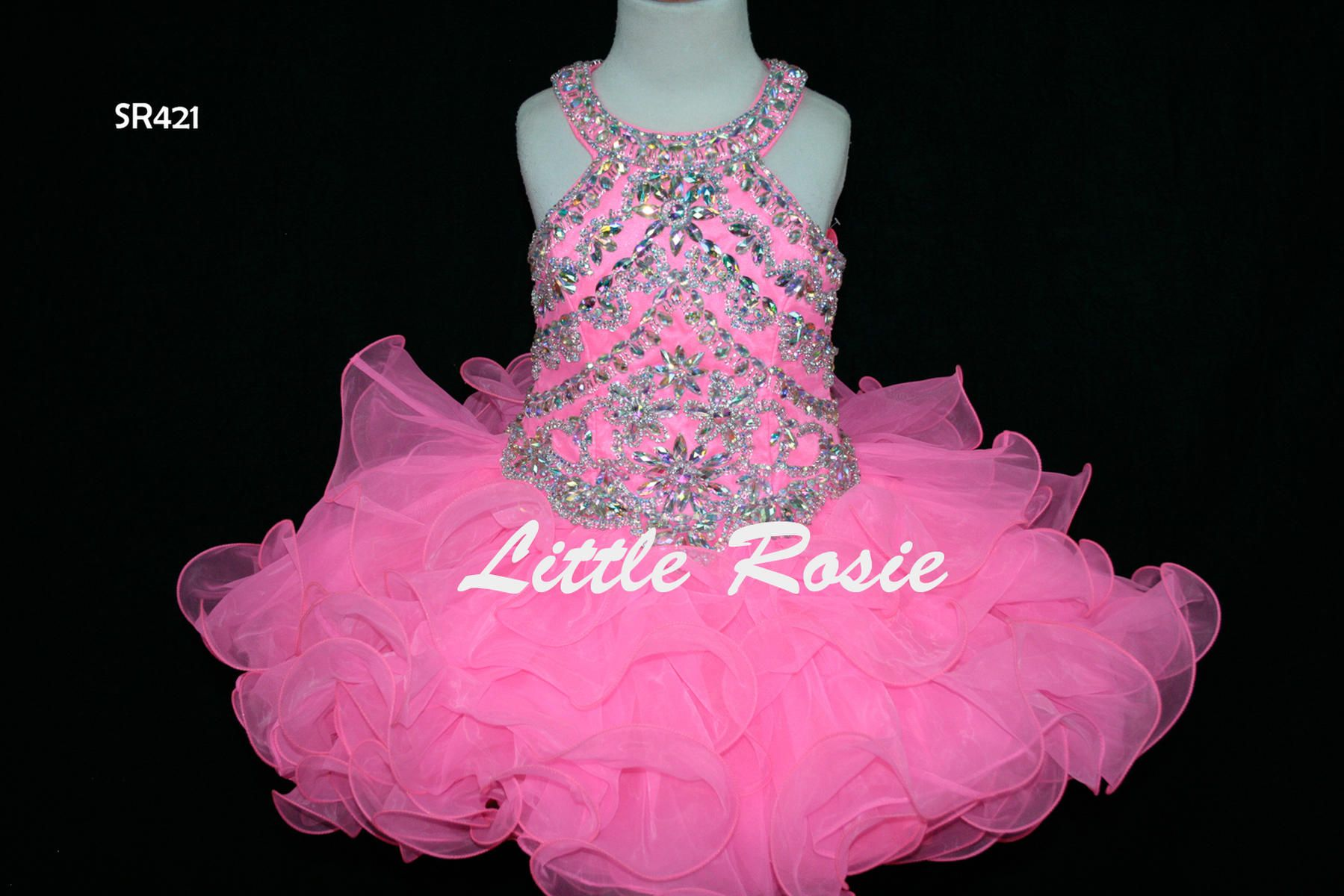 Little rosie girls glitz short pageant sr421 infusion