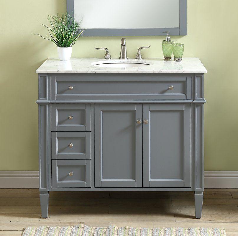 Beetwood 40 Single Bathroom Vanity Set With Images Bathroom