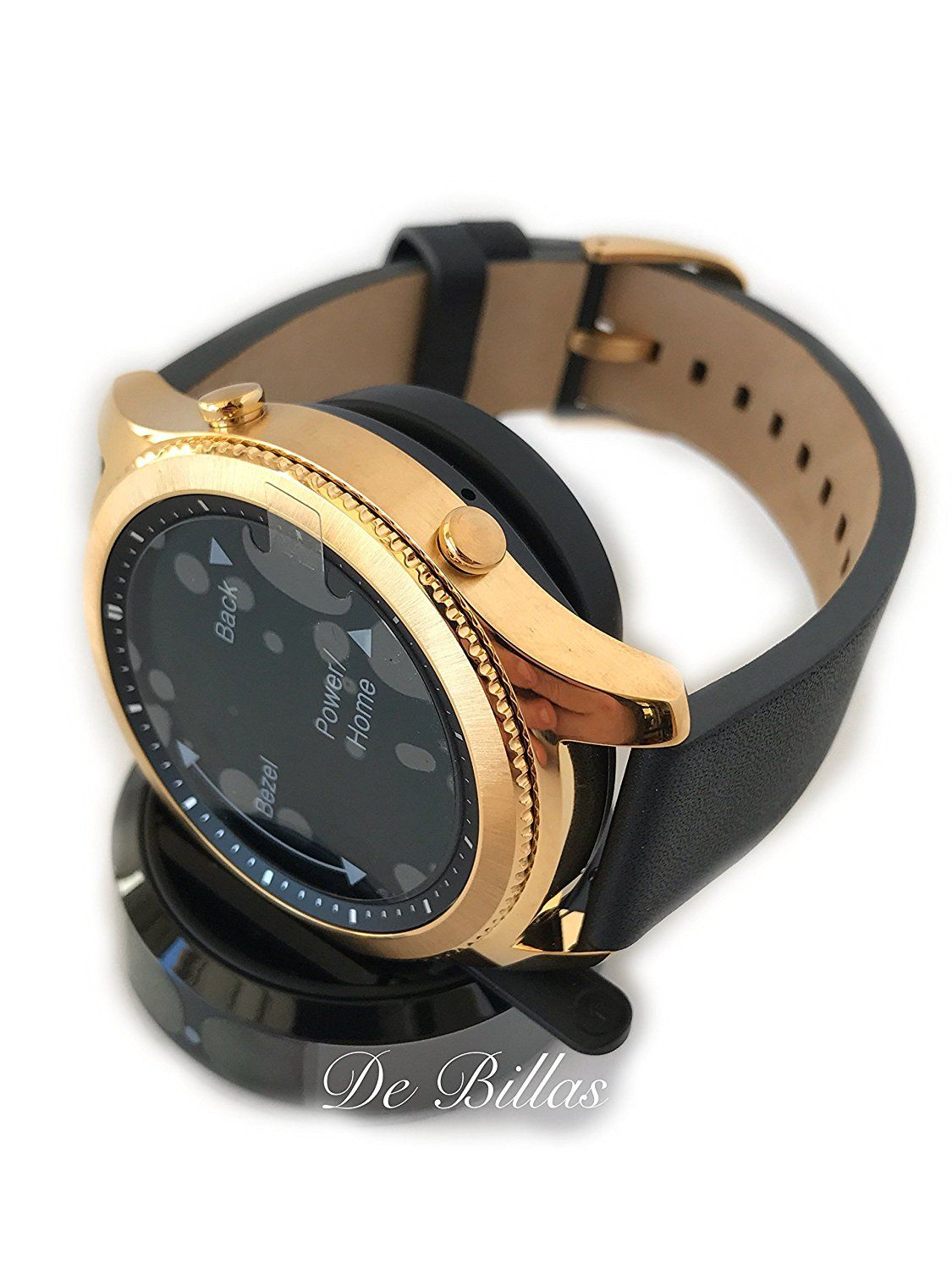 24K Gold Samsung Gear S3 Smart Watch Original Samsung Gear