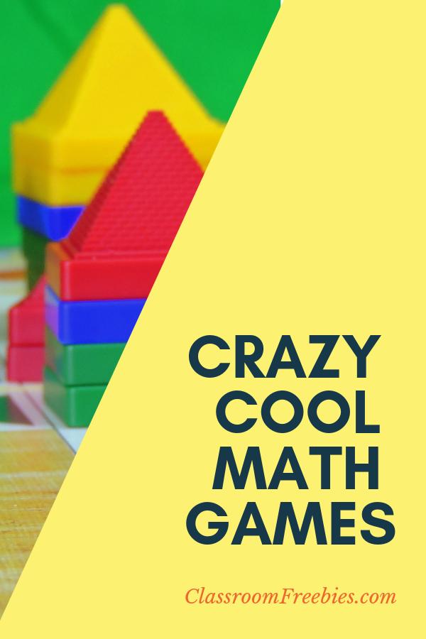 Crazy Cool Math Games Math games, Fun math, Classroom