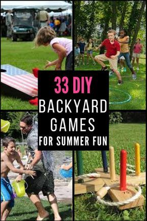 , 33 Awesome DIY Outdoor Games For Summer Fun, MySummer Combin Blog, MySummer Combin Blog