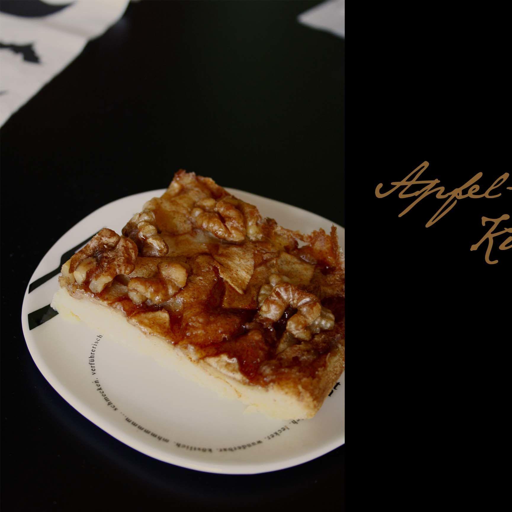 Walnuss-Apfel-Kuchen