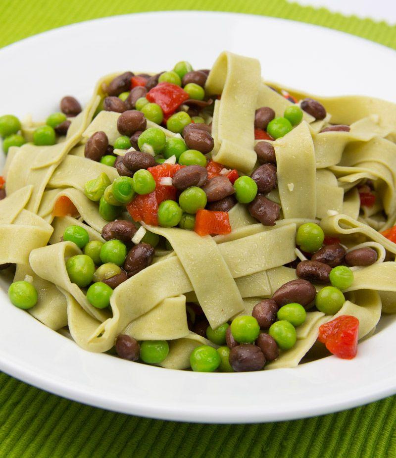 Artichoke Ribbon Pasta Salad