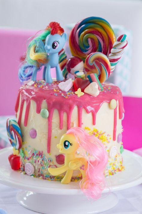 My Little Pony Geburtstagstorte selbermachen  basteln