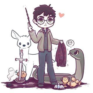 Sidentifier Dessin Peinture In 2020 Harry Potter Zeichnungen Harry Potter Anime Niedliche Zeichnungen