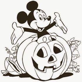 Desenhos Do Halloween Para Colorir E Imprimir Cores Disney Imagens De Halloween Para Colorir Halloween Para Colorir