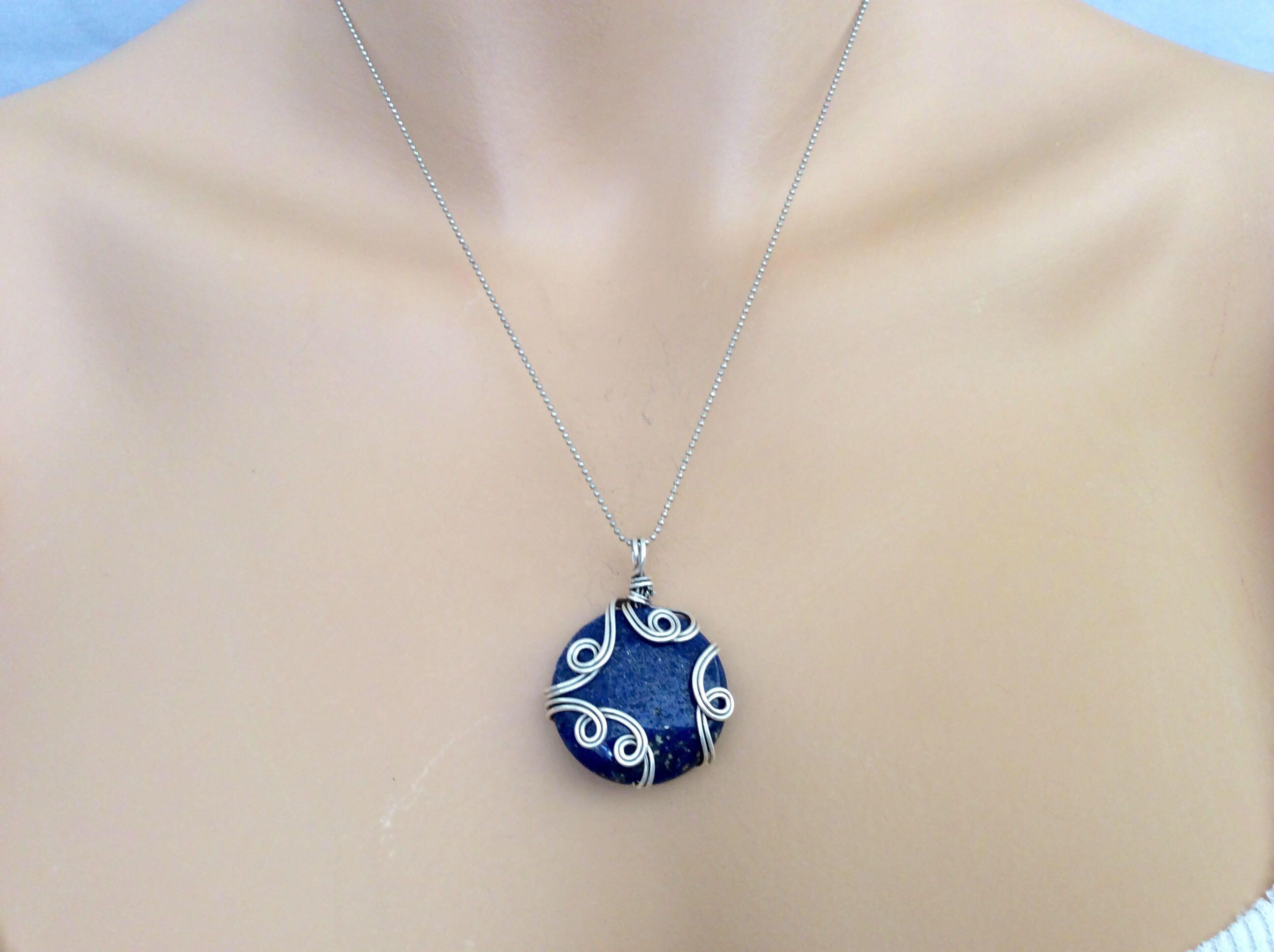 Pin by Debbie Hodge on JeWeLrY-WiRe WrApS | Pinterest | Lapis lazuli ...