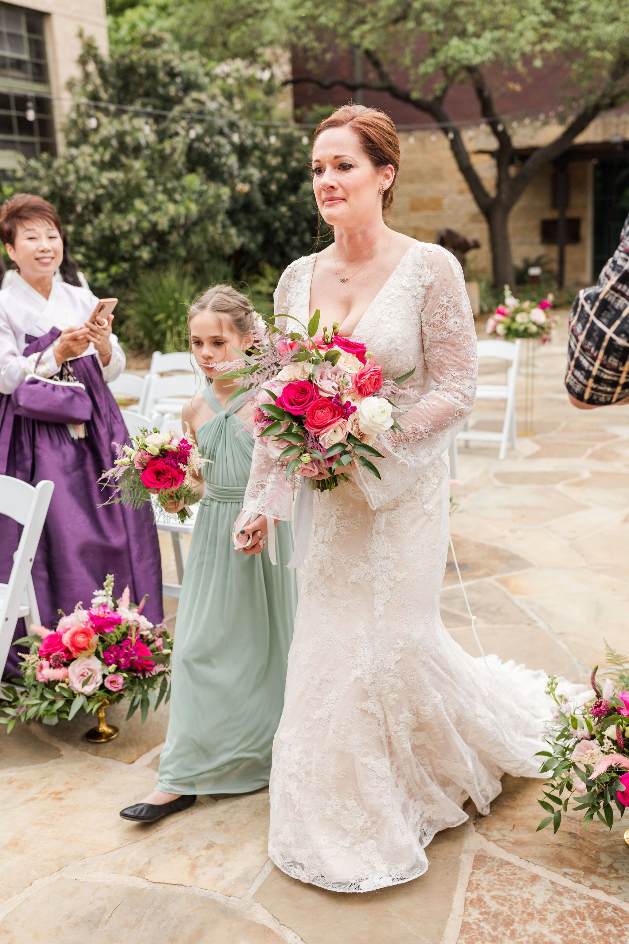 Modern Wedding At The Briscoe Western Art Museum San Antonio Texas In 2020 Wedding Modern San Antonio Weddings Wedding Dresses Lace